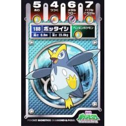Pokemon 2008 Diamond & Pearl Neo #4 Series Prinplup Battle Sticker