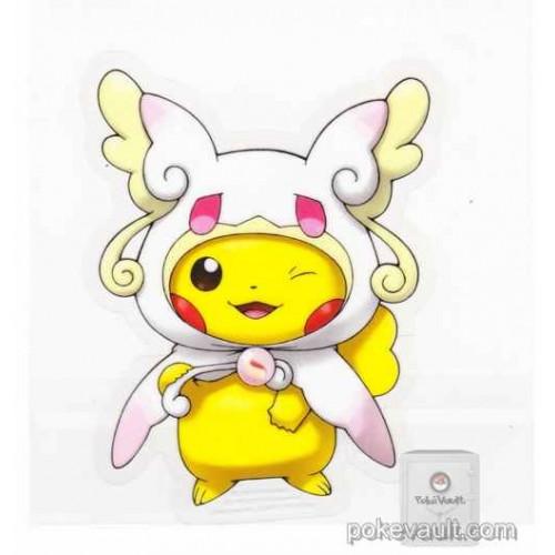 Pokemon Center 2015 Poncho Pikachu Campaign #1 Mega Audino Large Sticker