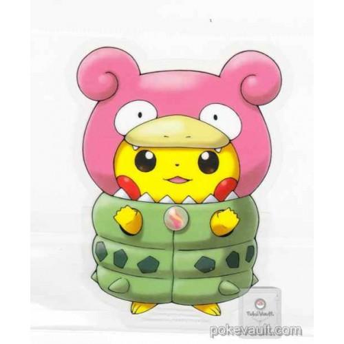 Pokemon Center 2015 Poncho Pikachu Campaign #1 Mega Slowbro Large Sticker