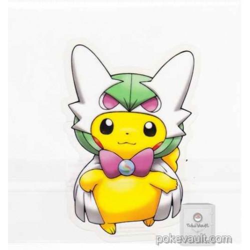 Pokemon Center 2016 Poncho Pikachu Campaign #2 Mega Gardevoir Large Sticker