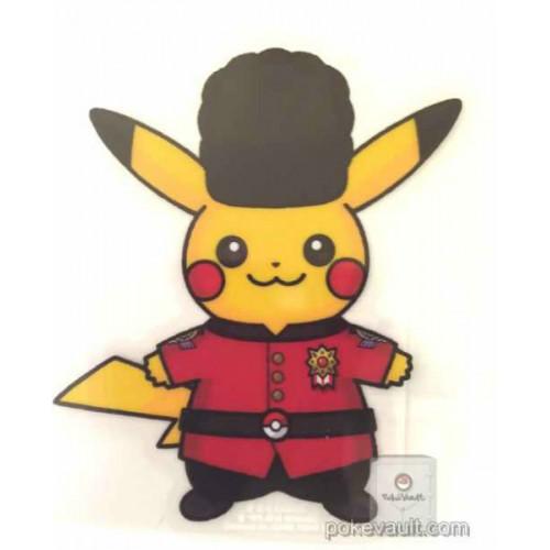 Pokemon Center 2016 World Pikachu Campaign #1 Large Sticker (England)