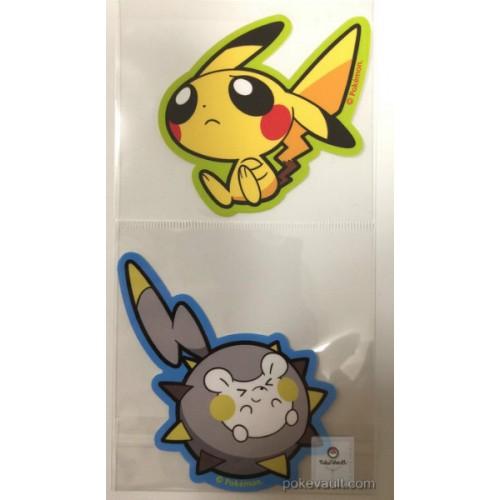 Pokemon Center 2017 Pokemon Pop Campaign Pikachu Togedemaru Set Of 2 Large Stickers