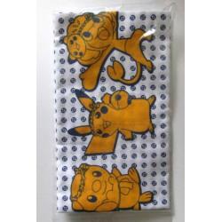 Pokemon Center Fukuoka 2011 Grand Re-Opening Pikachu Oshawott Pansage Large Size Cloth Hand Towel