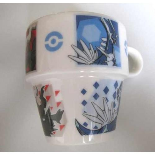 Pokemon Center 2007 Darkrai Dialga Palkia Lottery Ceramic Mug NOT SOLD IN STORES