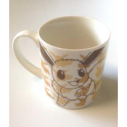 Pokemon Center 2013 Eevee Sketch Ceramic Mug
