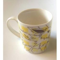 Pokemon Center 2013 Jolteon Sketch Ceramic Mug
