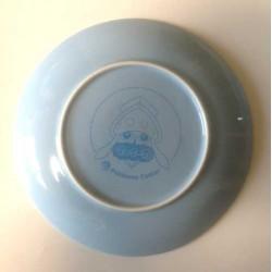 Pokemon Center 2014 Inkay Campaign Set of 2 Ceramic Plates
