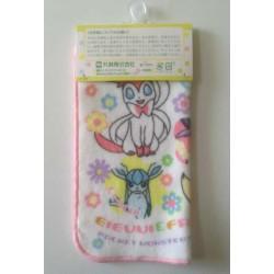 Pokemon Center 2014 Sylveon Eevee Espeon Glaceon Leafeon Umbreon Mini Hand Towel