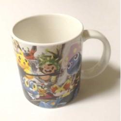 Pokemon Center Tokyo Bay 2013 Grand Opening Inkay Fennekin Chespin Froakie Dedenne & Friends Ceramic Mug