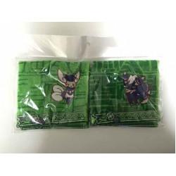 Pokemon Center 2014 My Dearest Campaign Meowstic Set Of 2 Mini Hand Towels