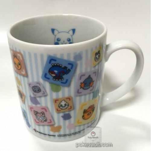 Pokemon Center 2015 Battle Trozei Poketoru Vulpix Sylveon Umbreon Mewtwo Gengar Goomy & Friends Plastic Mug (Pikachu Version) Lottery Prize NOT SOLD IN STORES