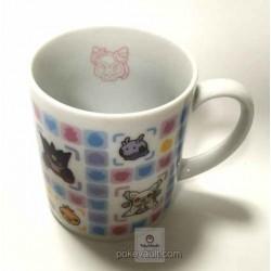 Pokemon Center 2015 Battle Trozei Poketoru Sylveon Mega Mawile Gengar Audino Goomy & Friends Ceramic Mug (Sylveon Version) Lottery Prize NOT SOLD IN STORES