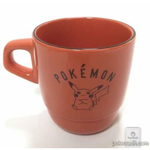 Pokemon Center 2016 Pokemon Market Campaign Pikachu Raichu Pichu Stackable Ceramic Mug