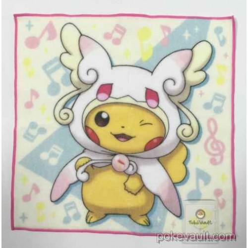 Pokemon Center 2015 Poncho Pikachu Campaign #1 Mega Audino Mini Hand Towel