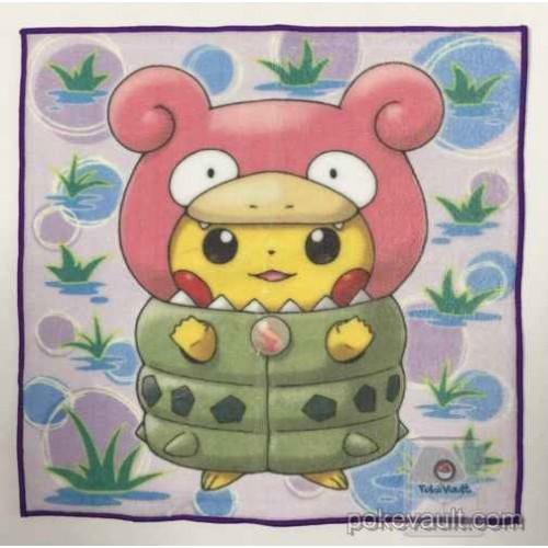 Pokemon Center 2015 Poncho Pikachu Campaign #1 Mega Slowbro Mini Hand Towel