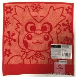 Pokemon Center 2016 Christmas Campaign Pikachu Delibird Mini Hand Towel