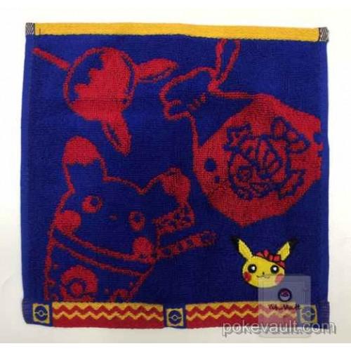 Pokemon Center 2016 Pika Festival Campaign Pikachu Embroidered Mini Hand Towel