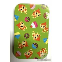 Pokemon Center 2016 Pokemon Time Campaign #9 Chimchar Candy Collector Tin