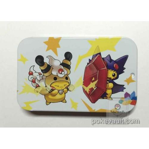 Pokemon Center 2016 Poncho Pikachu Campaign #2 Mega Ampharos Sableye Candy Collector Tin