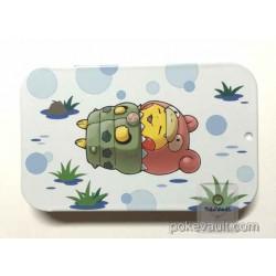 Pokemon Center 2016 Poncho Pikachu Campaign #2 Mega Slowbro Candy Collector Tin