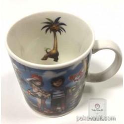 Pokemon Center 2016 Welcome To Alola! Campaign Litten Popplio Rowlet Rockruff Pikipek & Friends Ceramic Mug
