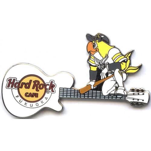 Hard Rock Cafe Fukuoka 2009 Softbank Hawks #3 Pin