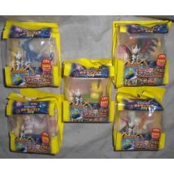 Pokemon 2009 7-11 Convenience Store Movie All 10 Pikachu Piplup Monferno Grotle Straraptor Pichu Dialga Giratina Palkia Arceus Action Car Figures