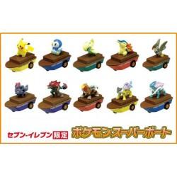 Pokemon 2010 7-11 Convenience Store Movie All 10 Suicune Raikou Entei Zoroark Zorua Pikachu Piplup Celebi Cyndaquil Staraptor Super Boat Figures