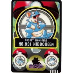Pokemon 1997 Bandai Nidoqueen Promo Sticker Card
