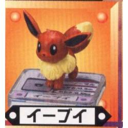 Pokemon 2004 Bandai Full Color Advance Series #14 Eevee Figure