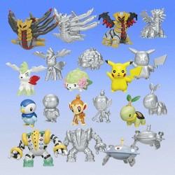 Pokemon 2008 Bandai Super Get Platinum World Series #01 Chimchar Platinum Version Figure