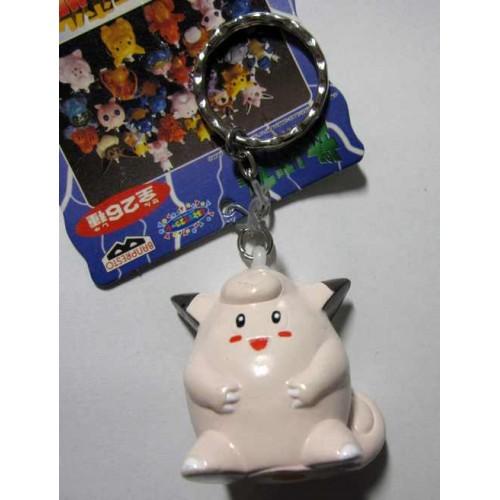 Pokemon 1998 Banpresto Clefairy Character Keychain