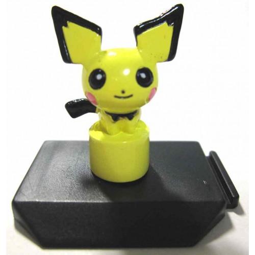Pokemon 2001 Bandai Battle Museum Series #13 Pichu Figure