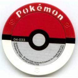 Pokemon 2008 Battrio Croagunk Normal Level Coin #04-033