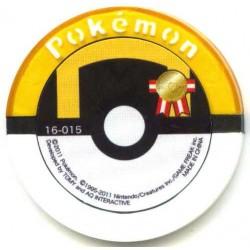 Pokemon 2011 Battrio Empoleon Hyper Level Sparkling Foil Coin #16-015