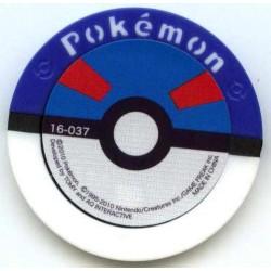 Pokemon 2010 Battrio Spin Rotom Super Level Coin #16-043
