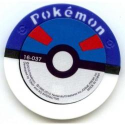Pokemon 2010 Battrio Heat Rotom Super Level Coin #16-037