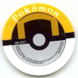 Pokemon 2009 Battrio Sceptile Hyper Level Sparkling Foil Coin #08-007