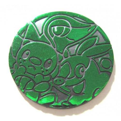 Pokemon 2011 Lawson Convenience Store Snivy Oshawott Tepig Coin (Green Version)