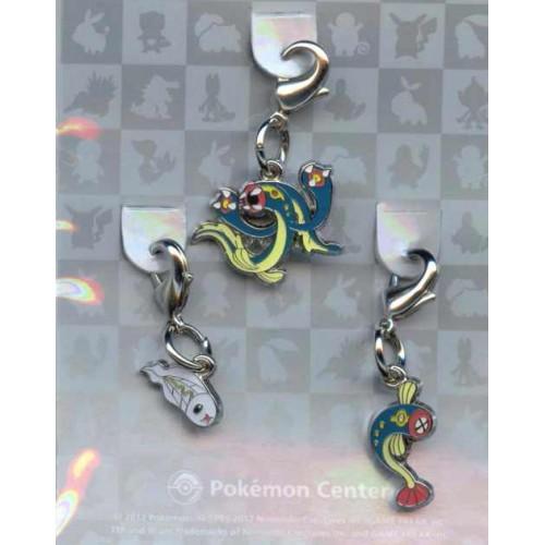 Pokemon Center 2012 Tynamo Eelektrik Eelektross Set of 3 Charms