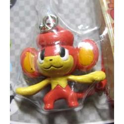 Pokemon Center 2010 Pansear Mini Mascot Figure Mobile Phone Strap #1