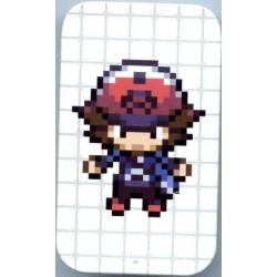Pokemon Center 2011 Dot Sprite Campaign Hilbert Trainer Secret Rare Candy Collector Tin