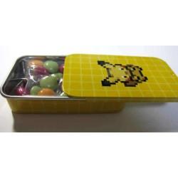 Pokemon Center 2011 Dot Sprite Campaign Pikachu Secret Rare Candy Collector Tin