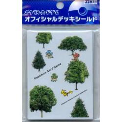 Pokemon Center 2011 Pansage Panpour Pansear Pikachu Forest Set Of 32 Deck Sleeves