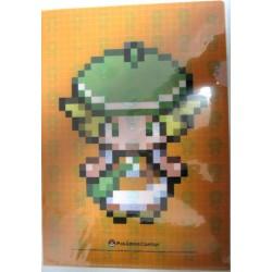 Pokemon Center 2011 Dot Sprite Campaign #2 Bianca A4 Size Clear File Folder