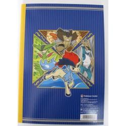 Pokemon Center 2012 Keldeo Cobalion Terrakion Virizion Sketch Notebook