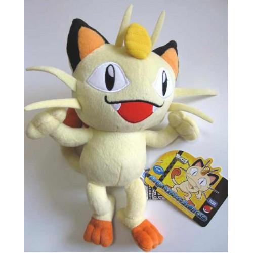 Pokemon 2010 Tomy Meowth Medium Size Plush Toy