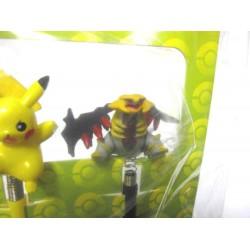 Pokemon Center 2009 Nintendo DSi Pikachu Giratina Set of 2 Mascot Touch Pens