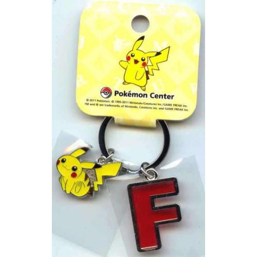 Pokemon Center 2011 Pikachu Keychain Version F