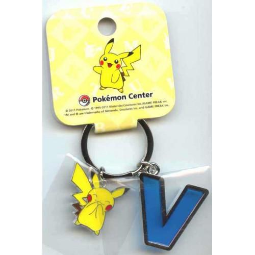 Pokemon Center 2011 Pikachu Keychain Version V